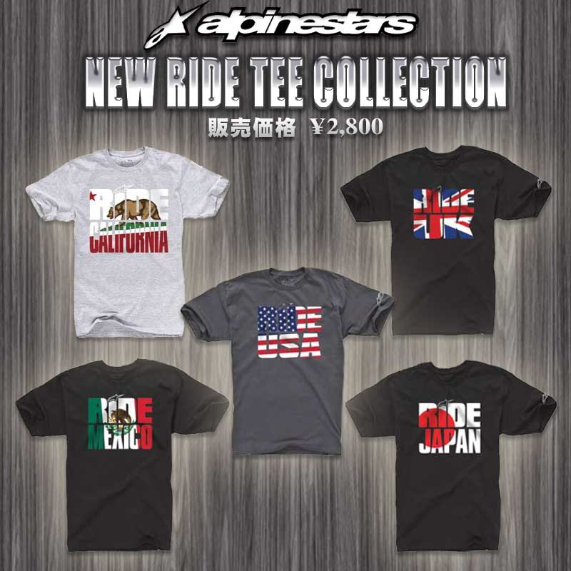 Alpinestars New Ride Collection