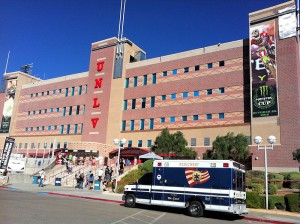 SAM BOYD STADIUM ENTRANCE