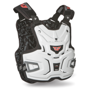 Pro Lite  Chest Protector White