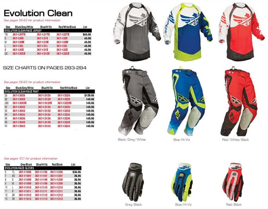 2014 FLY EVOLUTION CLEAN