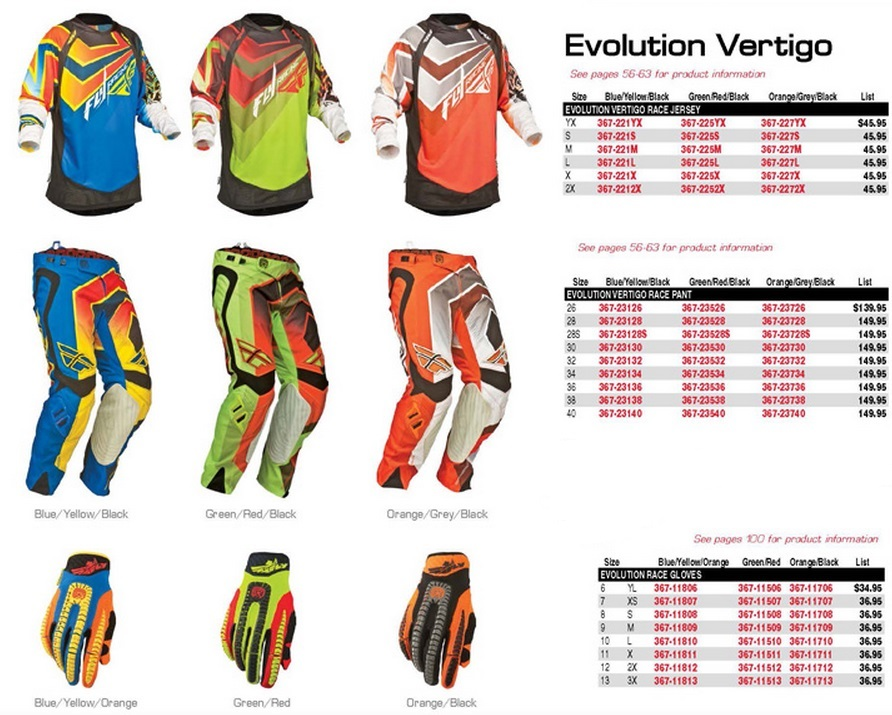 2014 FLY EVOLUTION TERTIGO