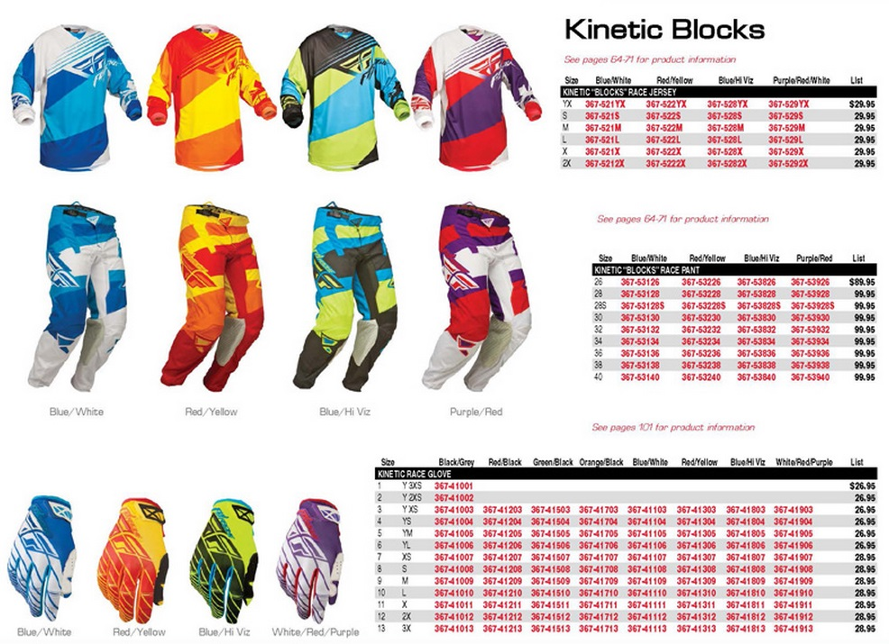 2014 FLY KINETIC BLOCKS