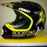 One Industries H&H Race Team Kombat Helmets