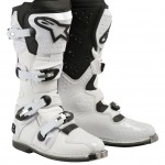 alpinestars TECH 8 LIGHT WHITE VENTED SIZE8